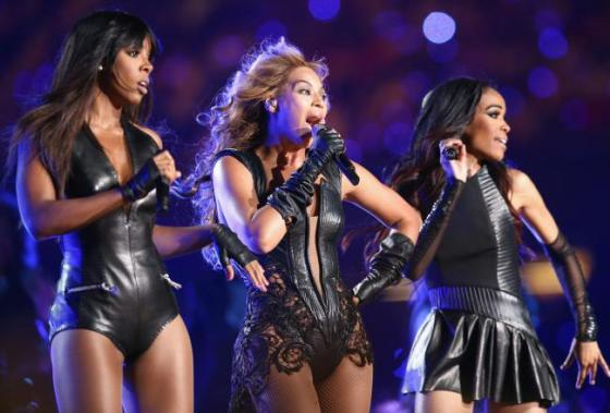 Super Bowl XLVII Half Time Performance by  Beyonce and Destiny's Child