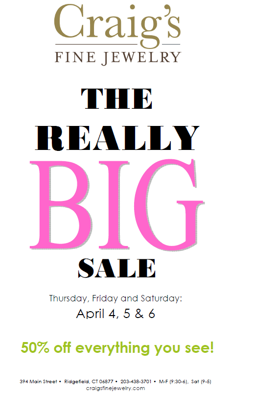 THE REALLY BIG SALE