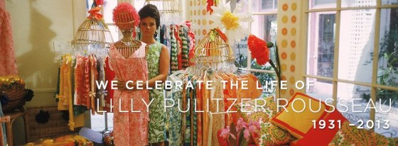 Photograph from the Lilly Pulitzer Facebook Page.