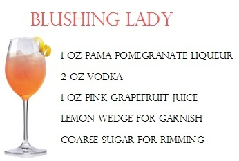 Blushing Lady- Moms day cocktail