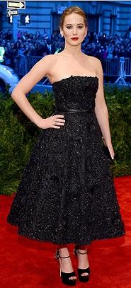Met Gala-Jennifer Lawrence