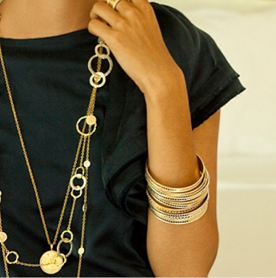 anna beck layered necklaces