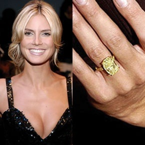 Heidi Klum engagement ring