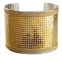 anna beck gold large cuff
