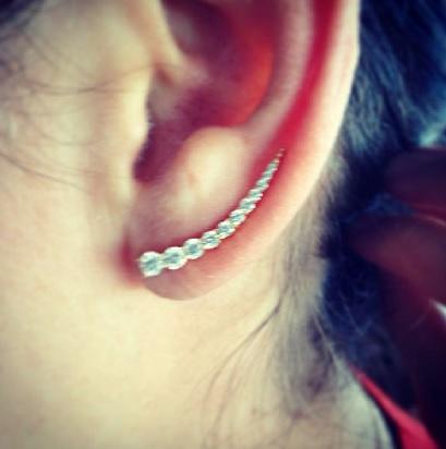 Jade Trau Ear Cuff