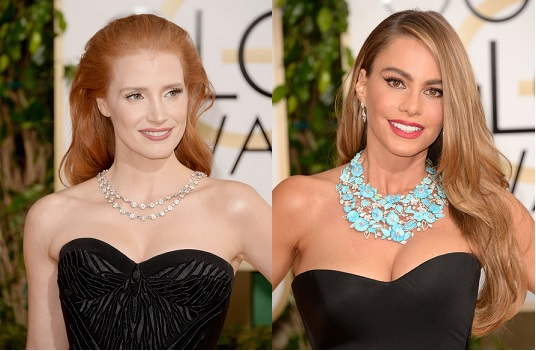 Golden Globes 2014- Statement Necklaces